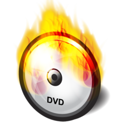 burn, dvd icon