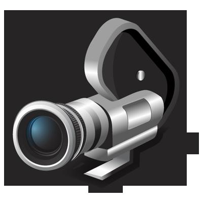 16mm, camera, film icon