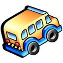 bus, transportation, vehicle icon