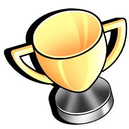 bronze, cup, gold, silver, trophy icon