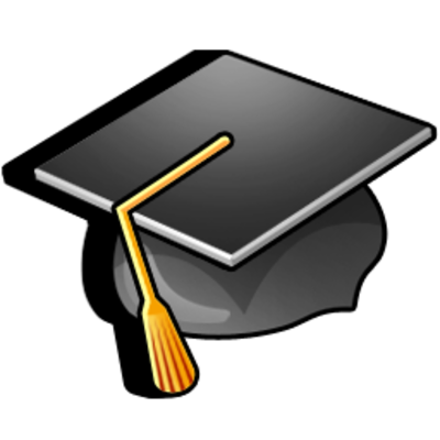 college hat, diploma, graduation, hat, student icon