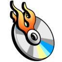 burn, cd icon