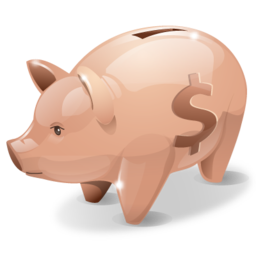 bank, money, piggy, savings icon