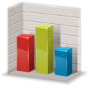 chart, column, graph, statistics icon