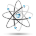 atom, cellular, dna, physics, science icon