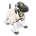 dog, robot, technology icon
