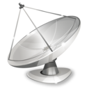 antenna, parabola icon