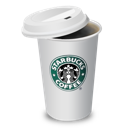 coffee, cup, lid, starbucks icon