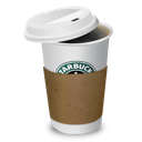 4, coffee, starbucks icon