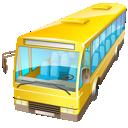 bus, transport, truck