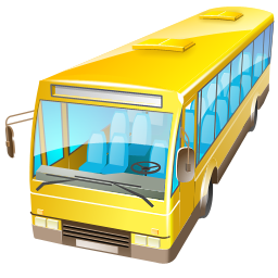 bus, transport, truck icon