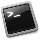 command line, terminal icon