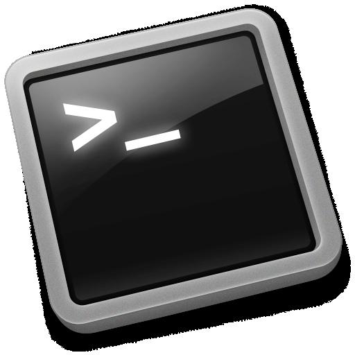 command line, terminal icon