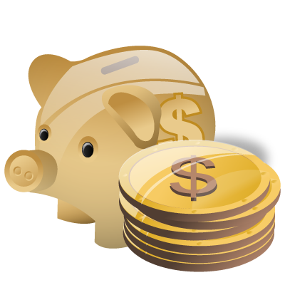 cash, deposit, money, piggy bank, savings icon