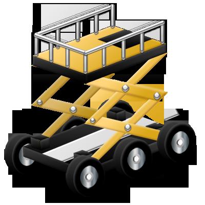 aerial, platform icon