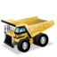 construction, dump, rigid, truck icon