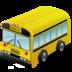 bus, transportation, vehicle icon
