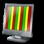 bars, ntsc, video icon
