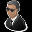 fbi, secret agent icon