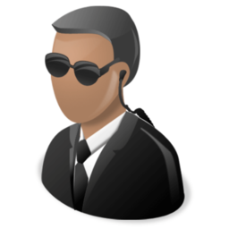fbi, secret agent icon