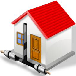 home, house, local, network icon