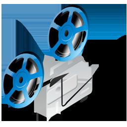 film, projector icon