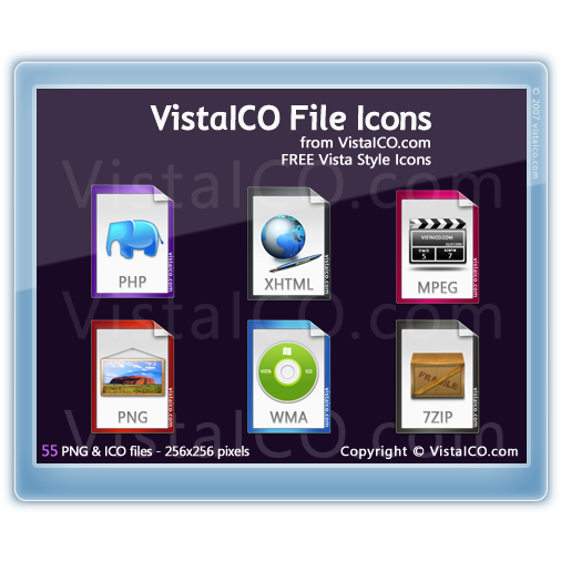 file, preview, vistaico icon