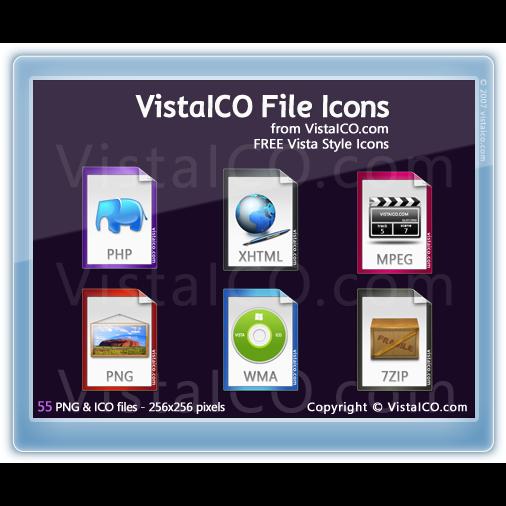 file, preview, vistaico icon