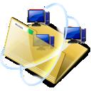 folder, network