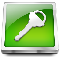 key, login, logout icon