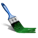 brush, color, design, iran, paint icon