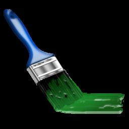 brush, color, design, iran, paint icon