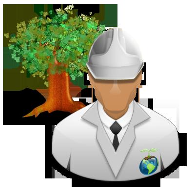 Engineer, environmental, green icon - Free download
