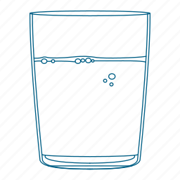 bed, cup, drink, glass, night, sleep, water icon