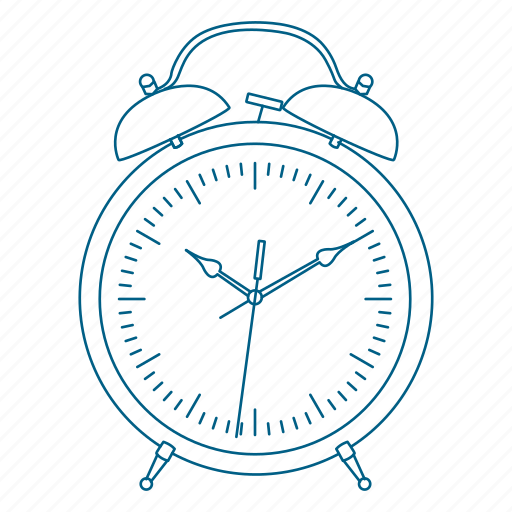alarm, bed, clock, night, sleep, time, wake icon