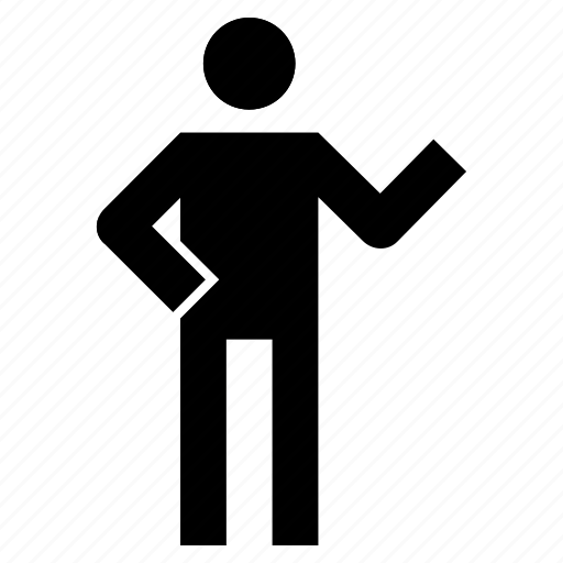 figure, gesture, human, male, man, stick, stickman icon