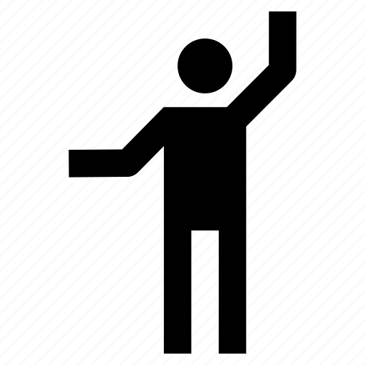 hand, human, male, man, up icon