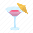 accessory, attributes, cocktail, entertainment, fun, glass, party icon