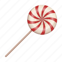 accessory, attributes, caramel, entertainment, fun, lollipop, party icon