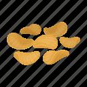 chips, food, potato, pub, snack icon