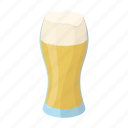 alcohol, beer, dishes, drink, foam, glass, pub icon