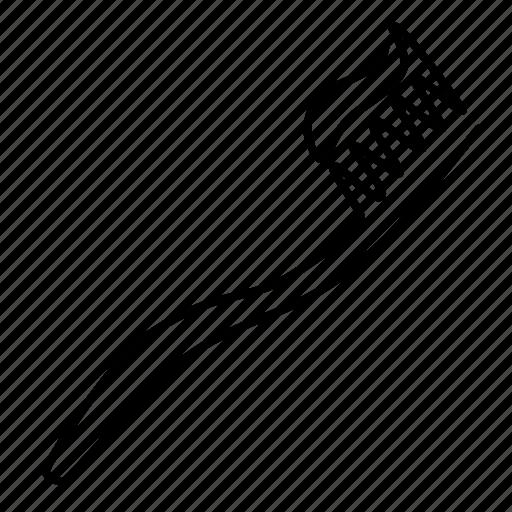 brush, toothbrush icon
