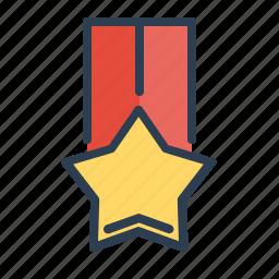 achievement, award, medal, prize, star, trophy, winner icon