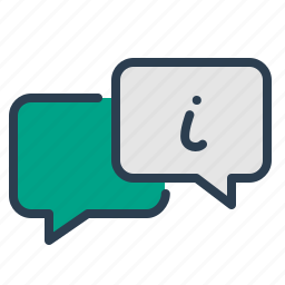 assistance, chat, contact us, customer service, infomation, message bubble, online support icon