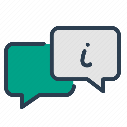 chat, customer service, message, online support icon