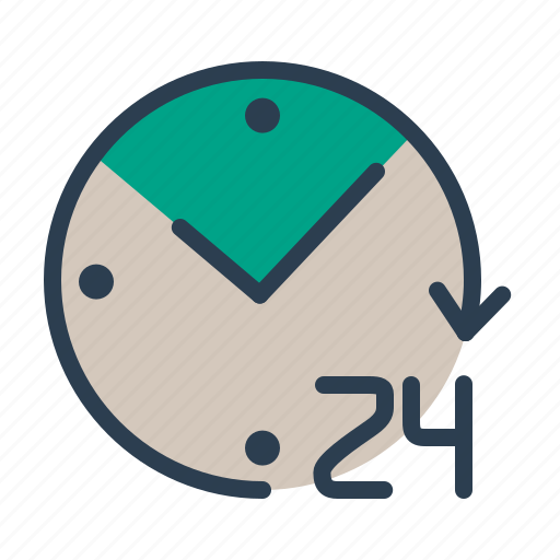 alarm, available, clock, whole day icon