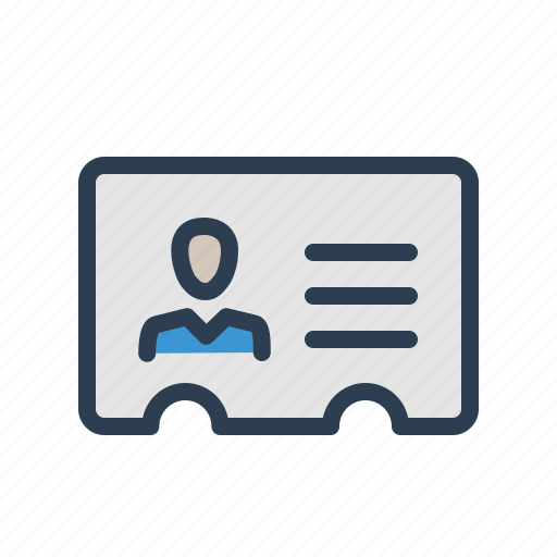 address, card, communication, contact, contacts, details, profile icon