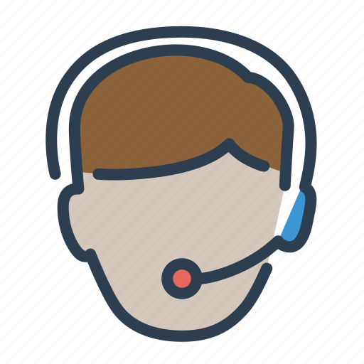 assistant, call, consultant, contact us, customer service, headphone, support icon