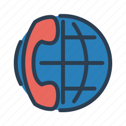 call center, contact us, customer support, global business, international call, mobile, phone icon