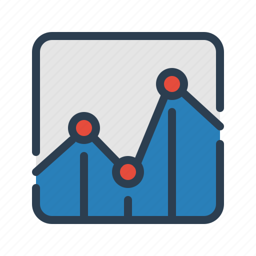 analytics, chart, diagram, earnings, sales report, statistics, stats icon